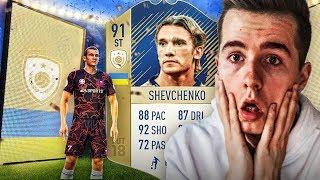 IKONA SHEVCHENKO PRIME PACK&BUILD CHALLENGE!   FIFA 18 ULTIMATE TEAM
