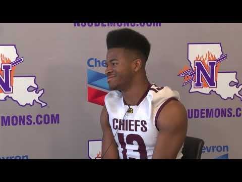 Recruit Video Interview: RB Rodney Robinson, Natchitoches Central High School