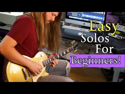 3 Easy Solos Perfect For Beginners!
