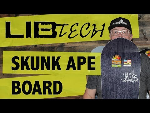 2018 Lib Tech Skunk Ape Snowboard - Review - TheHouse.com
