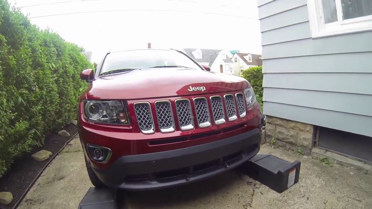 jeep oil cherokee grand compass changing