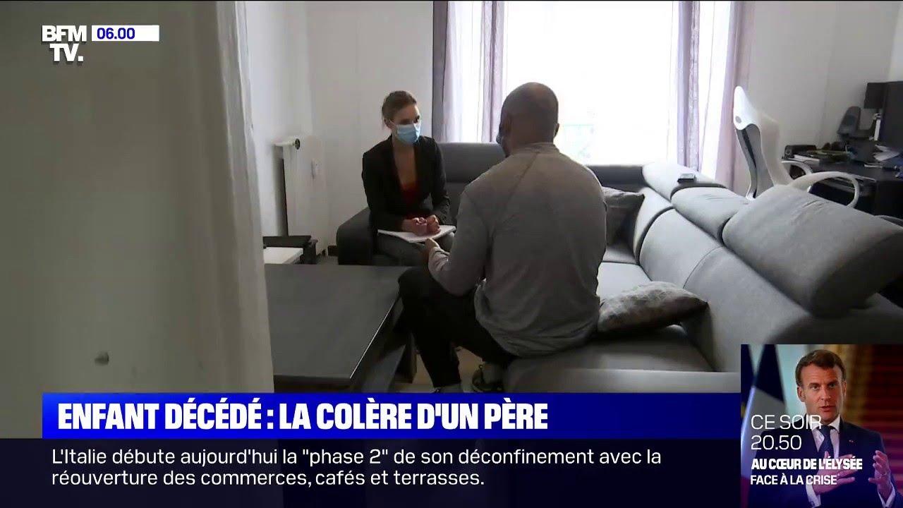 Le père de l'enfant potentiellement mort de la maladie de Kawasaki à Marseille témoigne sur BFM