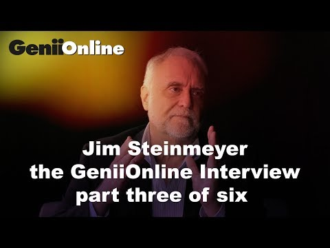 Jim Steinmeyer's unique perspective on the world of magic: GeniiOnline interview part 3 of 6: