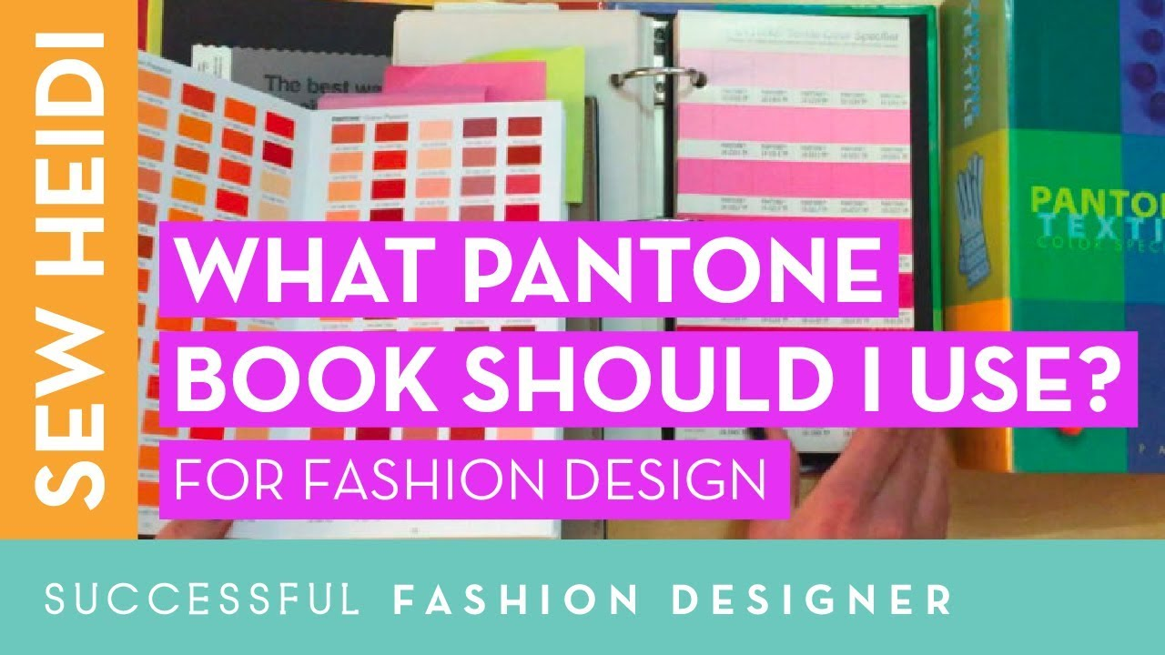 Pantone color book review for fashion designers (TCX vs TPX?!) - YouTube