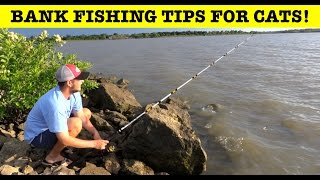 How to bank fish for catfish from a windy point.