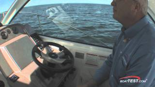Cruisers Yachts 390 Sports Coupe 2011  w/ 2 x 330-hp Volvo Penta IPS450 Performance Test