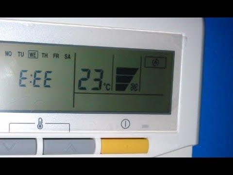 C 243 Digo De Error E Ee Aire Acondicionado Fujitsu
