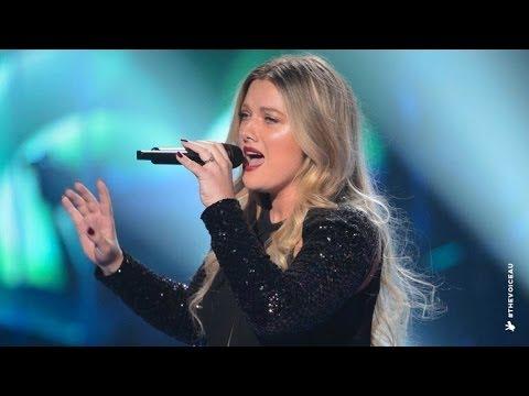 Candice Skjonnemand sings Unconditionally  The Voice Australia 2014