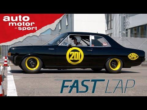 Opel Rekord C: Die schwarze Witwe - Fast Lap | auto motor und sport