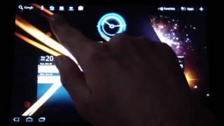 Sony Tablet S Review Arabic - معاينة جهاز سوني تابلت إس