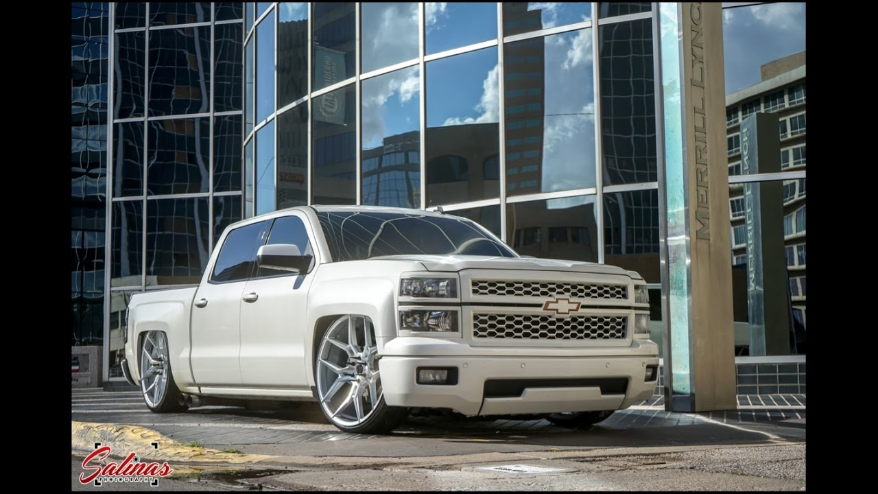 2014 Chevy slammed on 26s Giovanna Concave wheels! Drone ...
