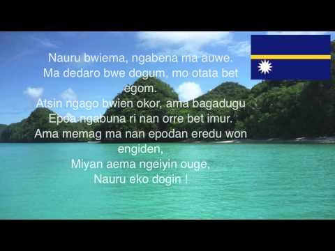 Nauru National Anthem - Nauru Bwiema