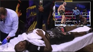 DEONTAY WILDER HAD TROUBLE WITH VADA TESTING AFTER SEVERE BEATING BY TYSON FURY!!