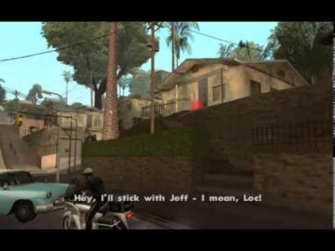 75a12975b28 GTA San Andreas - OG Loc (Big Smoke Mission  1) - Freddy and his PCJ-600  are bulletproof