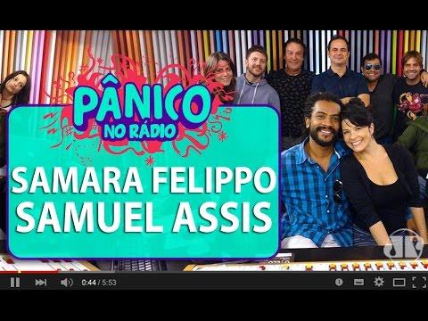 Samara Felippo e Samuel Assis - Pânico - 27/04/16