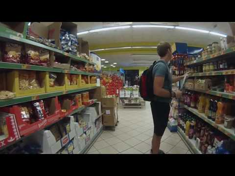 Todis Iperfresco - Italian Supermarket VIDEO TOUR (Ciampino, Rome, Italy)