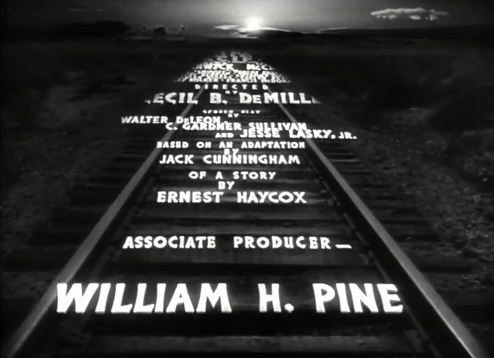 Union Pacific (1939) Main Titles