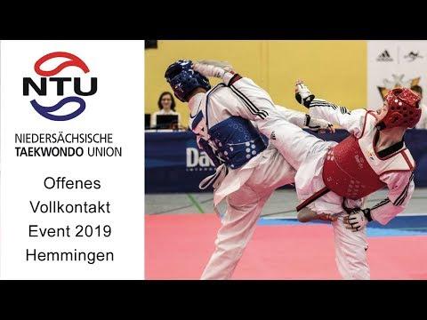 Offenes Vollkontakt Event 2019 Hemmingen 248 Milas Cakmak GER Vs  Lennart Denczek GER