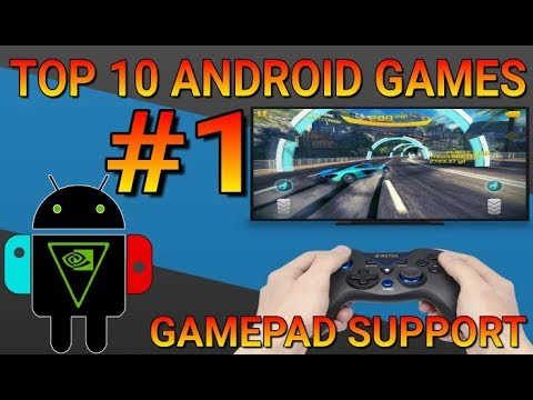 TOP 10 Android GAMES With GAMEPAD Support - Part 1