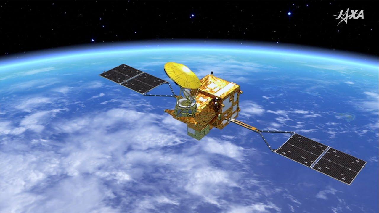 宇宙から地球を健康診断する衛星...