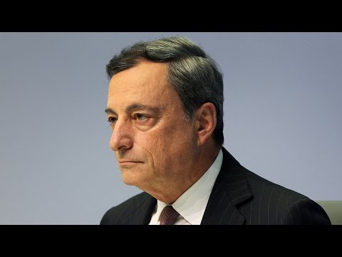 European Central Bank's Mario Draghi Signals Stimulus Commitment