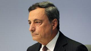 European Central Banks Mario Draghi Signals Stimulus Commitment