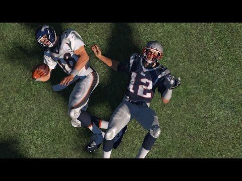 Can Tom Brady Sack Peyton Manning? - Madden NFL Challenge