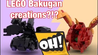 Bakugan as fanmade as Lego?!?! Interview with their amazing creator. (featuring Karl)