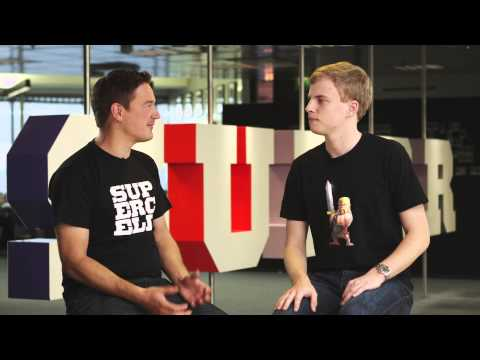 Interview with Supercell CEO Ilkka Paananen!