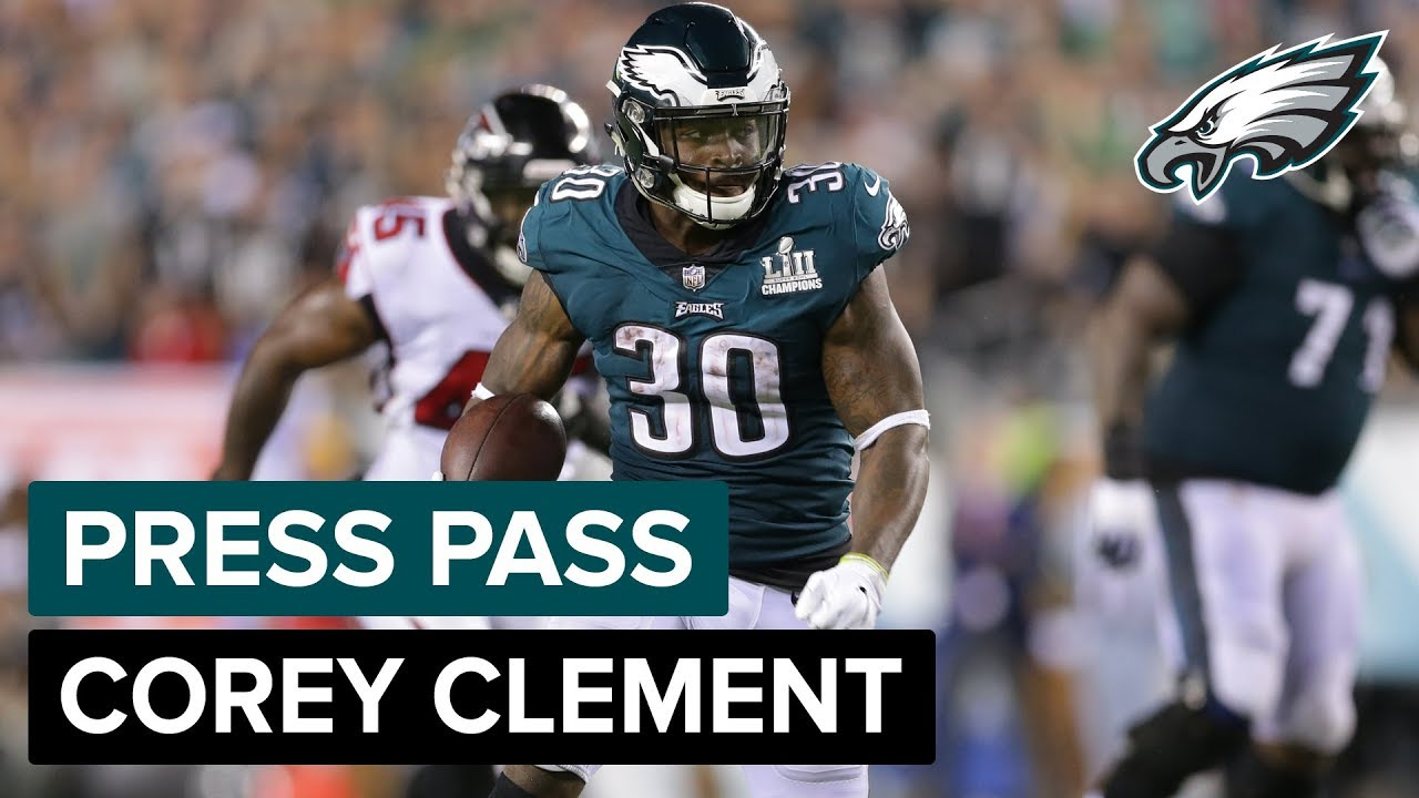 RB Corey Clement Discusses His Involvement In Trick Plays & More | Eagles  Press Pass