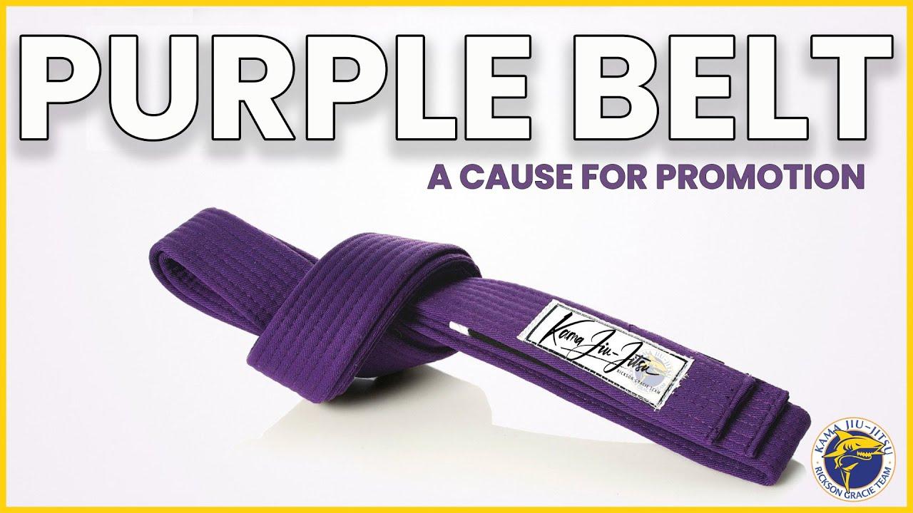 "Are You ""DANGEROUS"" As A Purple Belt? 🔥"