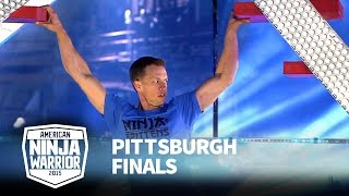 Geoff Britten at 2015 Pittsburgh Finals | American Ninja Warrior