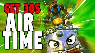 Get 30s of air time in a vehicle, WEEK 9 challenges, Fortnite Season 6
