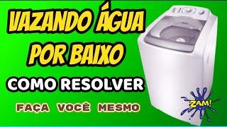 Vazando Água Por Baixo - Consul Maré Super 10Kg