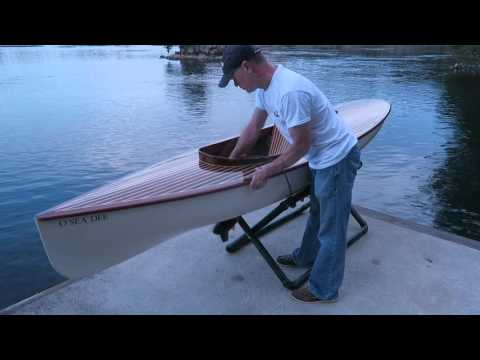 Motorized One Person Wooden Boat (Part 2)
