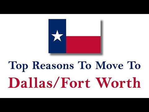 Moving To Fort Worth & Dallas Texas - What To Expect IN DFW! - 4k UHD