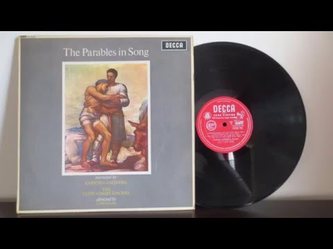 The Cliff Adams Singers, Eamonn Andrews ‎– The Parables In Song (1964) -  Vinyl Reincarnation com
