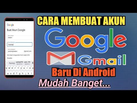 Cara Membuat Akun Google Gmail Baru Di Hp Youtube