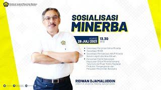 Download [LIVE] Sosialisasi Minerba: Perizinan Online, RKAB, Permohonan WIUP, dan Rancangan Keputusan Dirjen