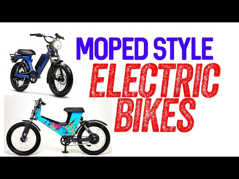 Best Moped Style Electric Bikes 2020 | Ebike Updates
