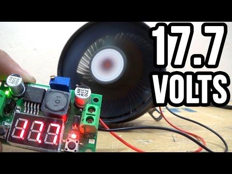 Aumentando velocidade do cooler (fan) com 17 volts (Leia a descrição)