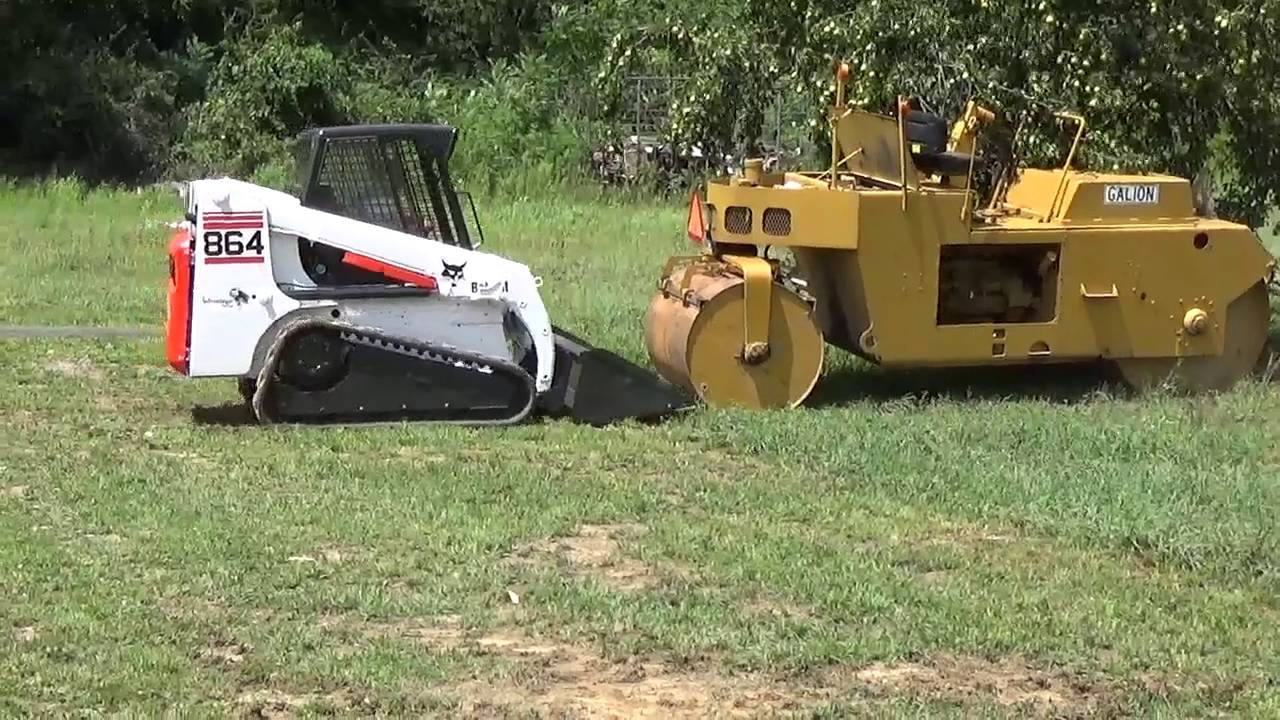 Bobcat 864 Track Skid Steer Cab And Only Hours