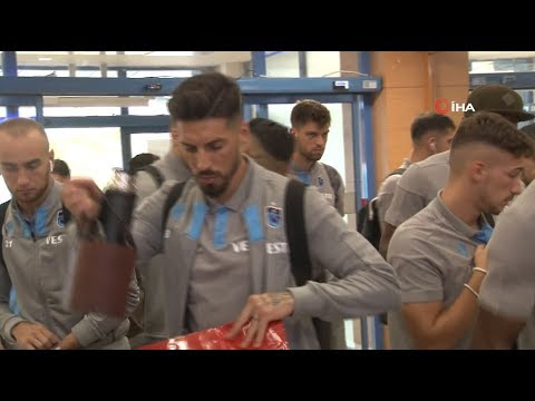 Trabzonspor, Getafe maçı için İspanya'ya gitti
