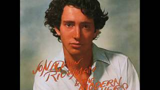 Jonathan Richman The Modern Lovers Lonely Financial Zone