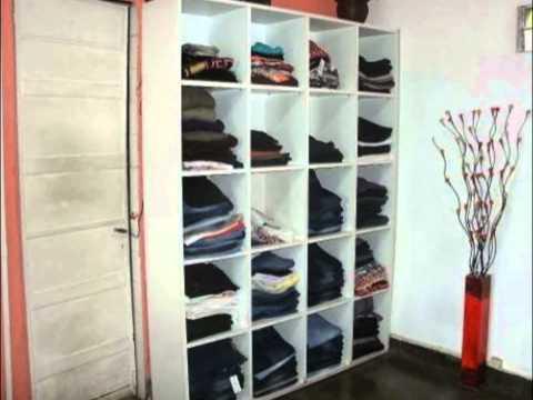Venta de muebles y accesorios para local de ropa - YouTube