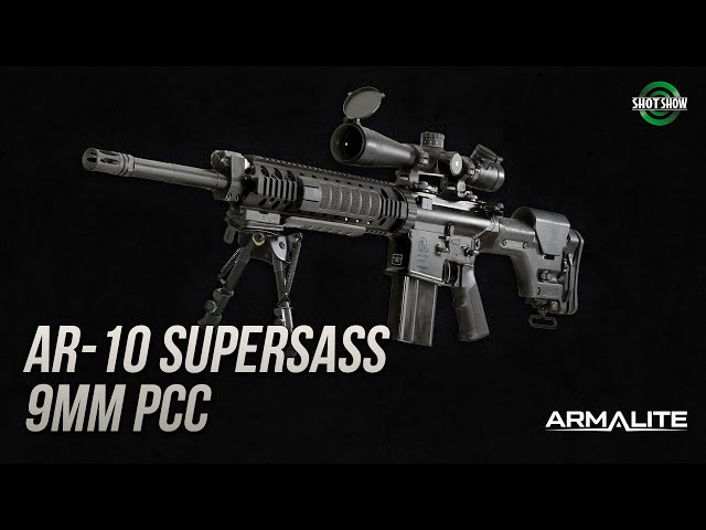 Armalite Super SASS Rifle and 9mm PCC - SHOT Show 2020