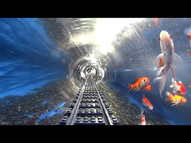 NEW Underwater Lego Train with FISHES!