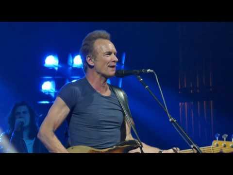 Sting 2017-02-25 Miami Beach, Floirda - The Fillmore -  Police Songs +