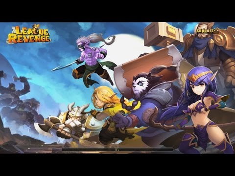 League Revenge The Last War RPG PVP Android Gameplay (HD)