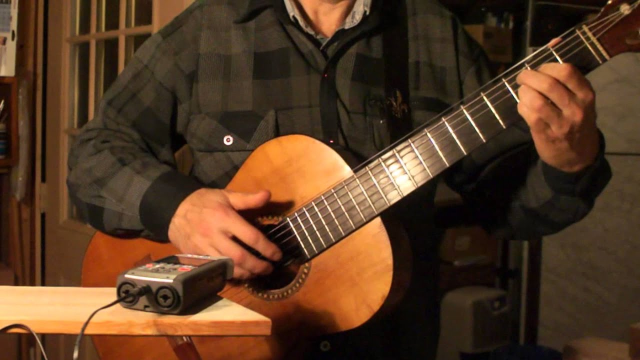 it s hard fingerstyle blues on classical guitar by andrei krylov